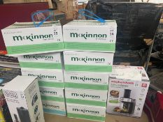 5X BOXES OF 50X MCKINNON MEDICAL GOGGLES