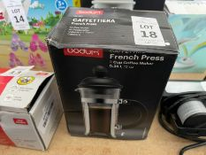 BODUM FRENCH PRESS CAFFETTIERA - 12OZ