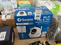 SWANN WI-FI PAN & TILT SECURITY CAMERA