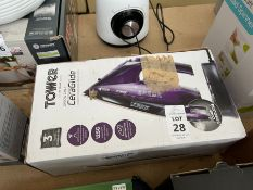 TOWER CERAGLIDE CORD/CORDLESS IRON (WORKING)