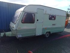 MARAUDER 450S TOURING CARAVAN WITH AWNING (GOOD CONDITION) (CARAVAN LOCATION IS IN KESH YARD)
