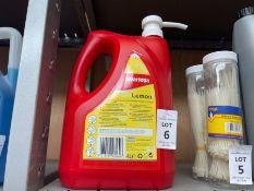 4L TUB OF SWARFEGA LEMON HAND CLEANER