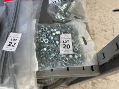 200X M8 STEEL NUTS
