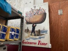 LARGE GUINNESS TIN SIGN