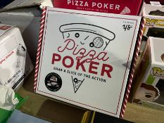YES STUDIO PIZZA POKER BOARD GAME RRP £20 (SEALED)