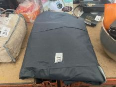 GREY BBQ COVER