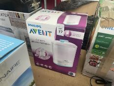 PHILIPS AVENT 2-IN-1 ELECTRIC STEAM STERILISER (WORKING)