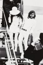 Yoko Ono and John Lennon Photography, pigment print on paper (Hahnemühle 300g) Signed lower right,