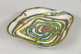 Spiralental, 1983 Ceramics Signed, dated, titled and numbered on the bottom: 634/2000 ca. 14,2 x