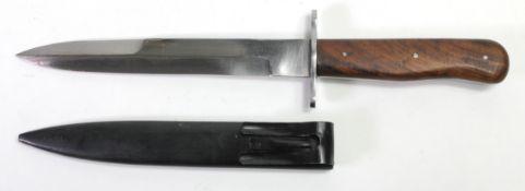 German WW2 pattern boot knife