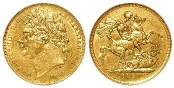 Sovereign 1821 cleaned GVF