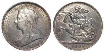 Crown 1897 LXI, EF