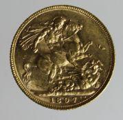 Sovereign 1897M, GVF