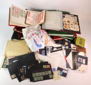 GB - large selection in albums / stockbooks plus lots of loose stamps in packets, stockcards,