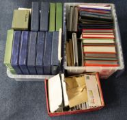 GB - very large original unpicked collection of GB with some World material, in two large plastic