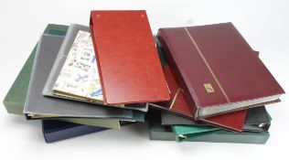 Accessories - box of various stockbooks, binders and albums, all empty. No reserve (Buyer collects)