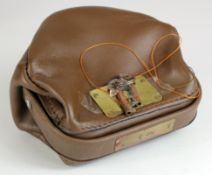 Night safe bag, Unbranded Leather night safe bag number 3 complete with 2 keys, good condition