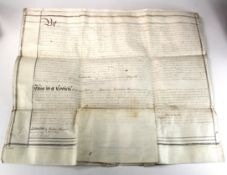 Last Will & Testament of Thomas William Hunt 1806 - 1884, Governor of the Bank of England 1867 -