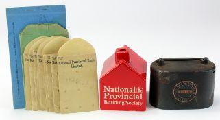 Money box home safe (2), National Provincial Bank Ltd. Iron money box/home safe number 39108,