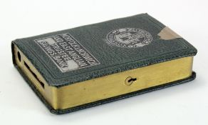 Money box, Norfolk & Norwich and East Anglian Trustee Savings Bank, book design, number 6178,