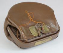 Night safe bag, Unbranded Leather night safe bag number 5 complete with 2 keys, good condition