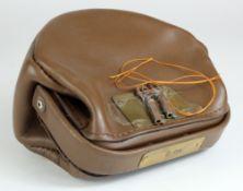 Night safe bag, Unbranded Leather night safe bag number 2 complete with 2 keys, good condition