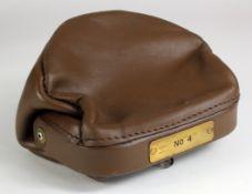Night safe bag, Unbranded Leather night safe bag number 4 complete with 2 keys, good condition