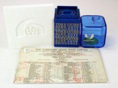 Money box, Yorkshire Bank plastic money boxes (2) different sizes, no keys needed, plus ceramic type