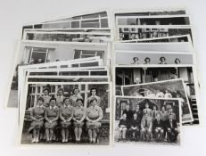 Golf, 1950's to early 1970's original Press Photographs featuring teams for Home International