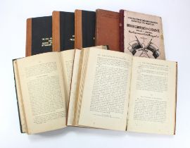 Books (7), a group of old books relating to Indian Banking and Currency, Indian Finance & Banking