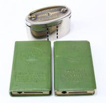 Money box (3), Manchester & Salford Savings Bank book design without key, no. 114286, Wigan