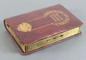 Money box, Scotland, Kirkaldy and District Trustee Savings Bank, book design home safe no. 5384
