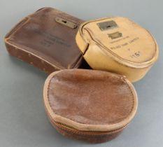 Night safe bag (3), Midland Bank Leather night safe bag number PB1326 without key, Midland Bank