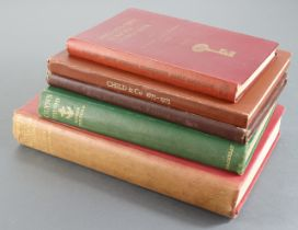 Books (5), A Hundred Years of Joint Stock Banking by Crick & Wadsworth 1st edition printed 1936,
