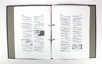 Books, Local Paper Money issued during the Spanish Civil War, a comprehensive study and list of