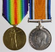 BWM & Victory Medal to 49053 Cpl F W Pilcher N.Z.E.F. Killed In Action 8th October 1918 with the 1st
