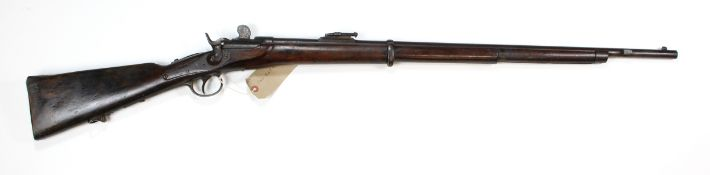 Rifle - an obsolete calibre 11mm Werndl M1867 Service Rifle issued to the Imperial Austrian Army, ""