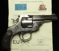 Harrington & Richardson Arms Co Worcester: Mass: USA. Revolver, calibre .38 Smith & Wesson, Serial