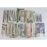 World (178), a large collection of World notes, all different and all Uncirculated or about, no