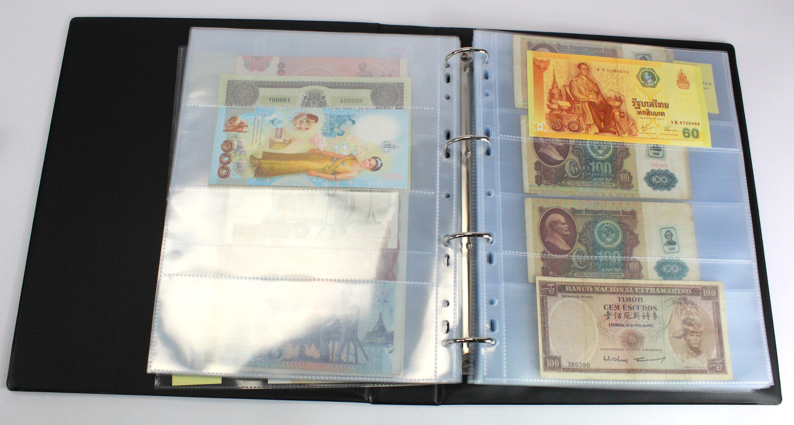 World (approx. 600), collection in 5 albums with slipcases, countries S - U, heavy duplication - Image 13 of 17
