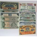 Scotland (15), a group of 1 Pound's plus a 20 Pound, Clydesdale Bank (2) dated 1967 & 1969,
