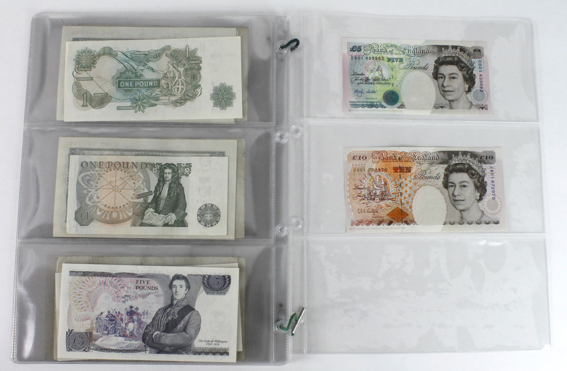 Bank of England (23), a good collection of mid series FIRST and LAST PREFIX notes comprising - Image 8 of 9