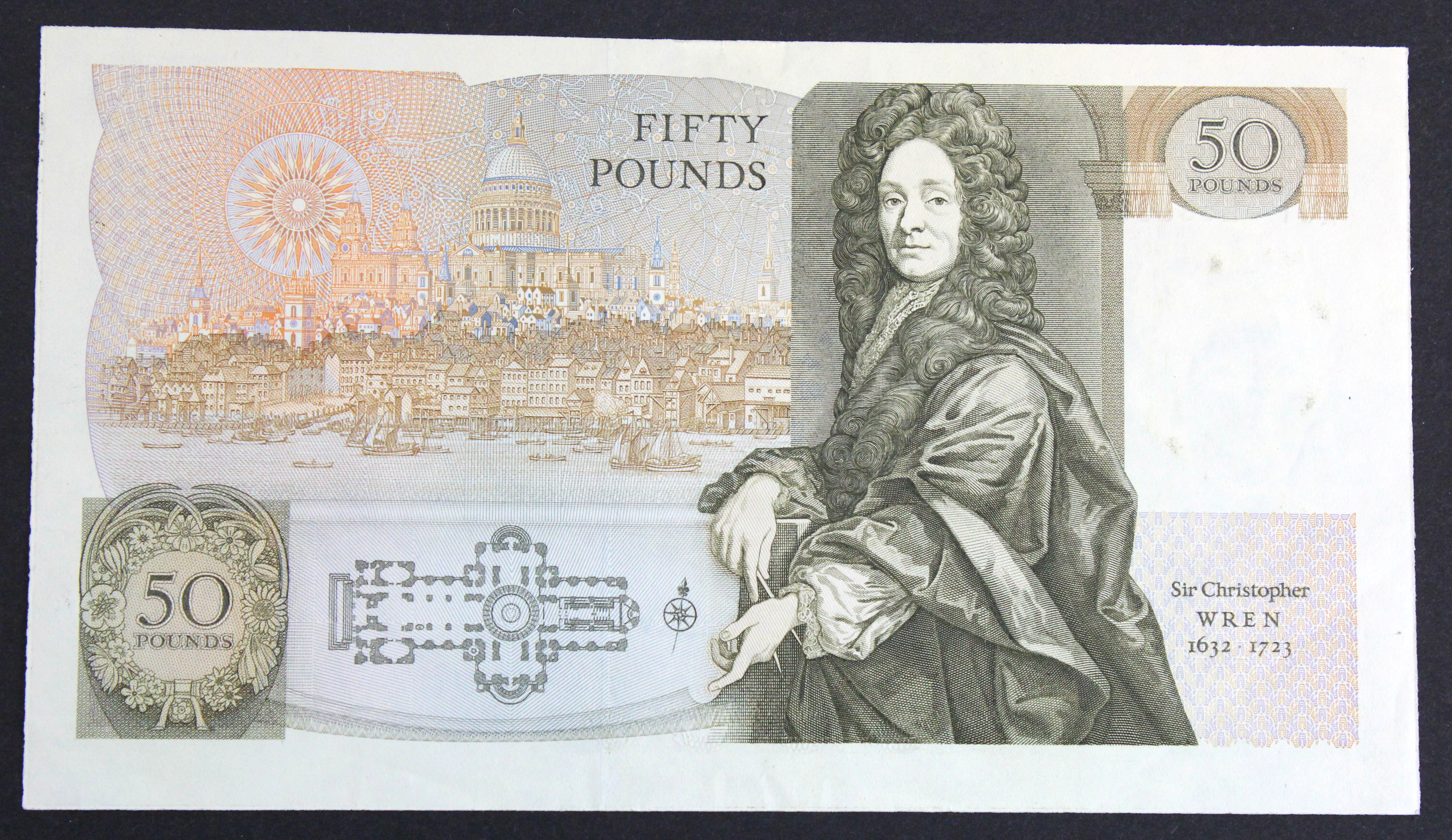 Somerset 50 Pounds issued 1981, FIRST RUN serial A01 255500 (B352, Pick381a) EF - Image 2 of 2
