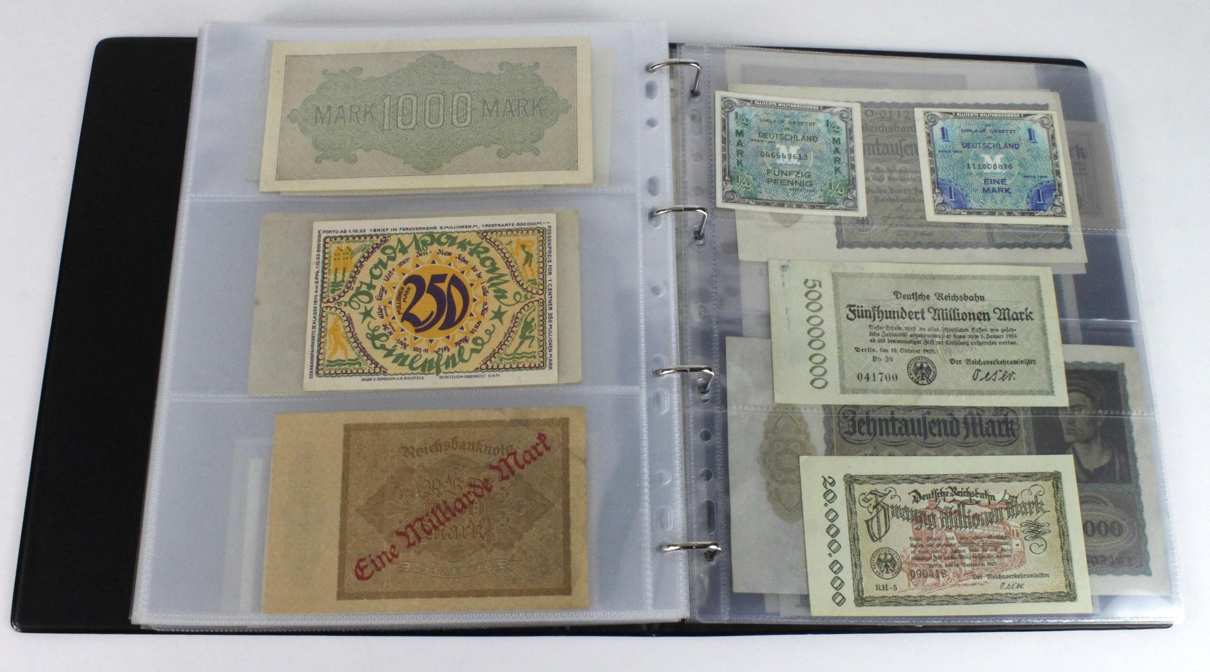 World (163), in banknote album including Bahamas, Spain, Sweden, Netherlands, Algeria, Macau, - Image 52 of 57
