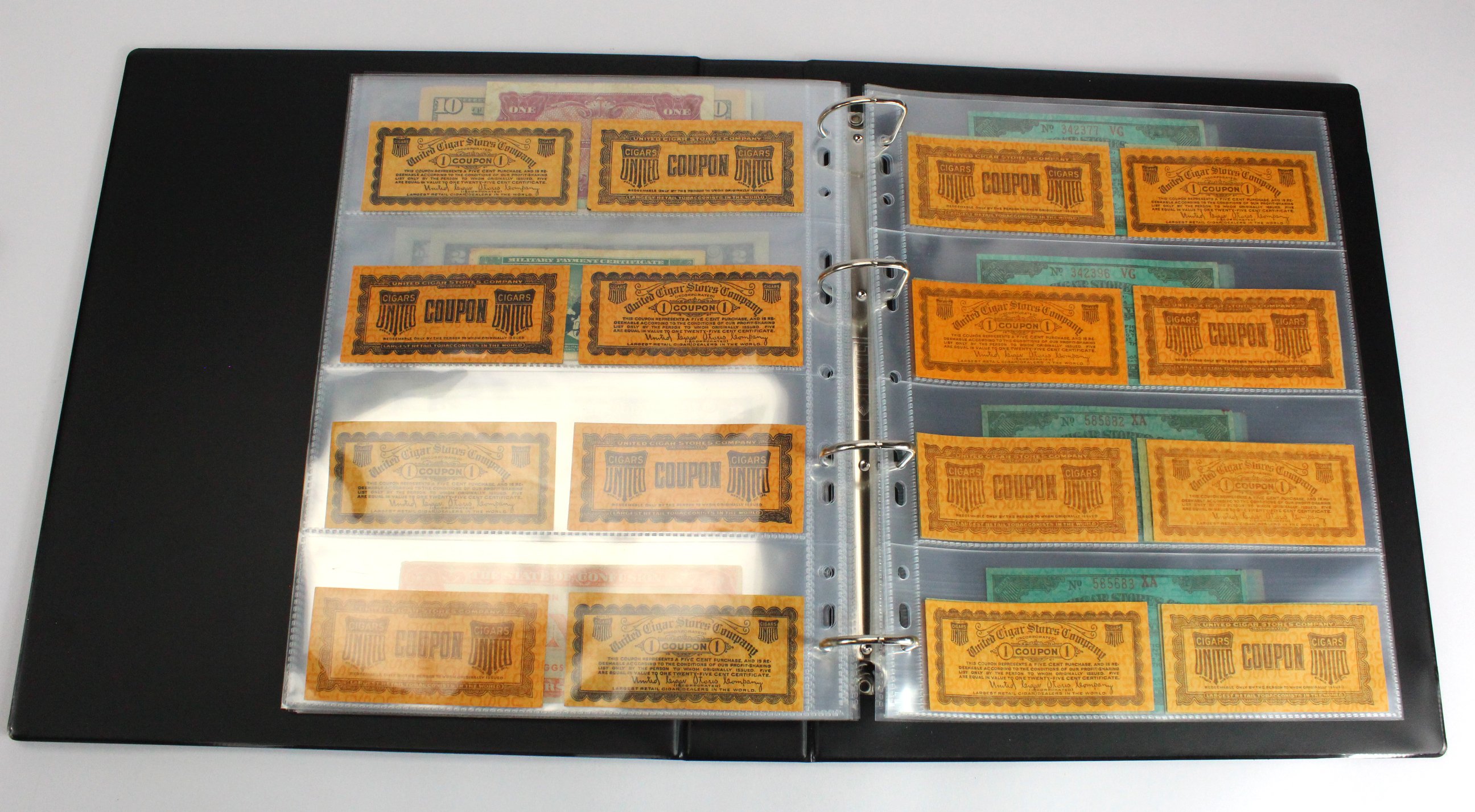 World (approx. 600), collection in 5 albums with slipcases, countries S - U, heavy duplication - Image 17 of 17
