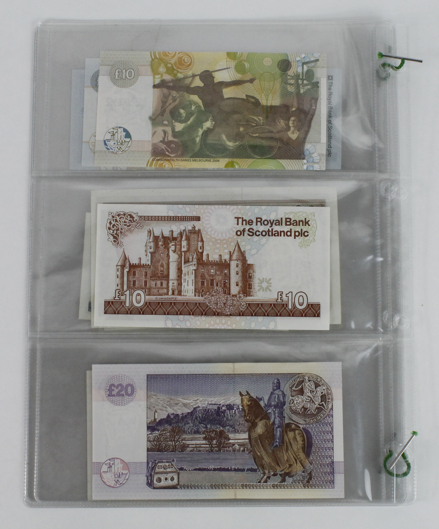 Scotland (18), a collection in album sleeves, British Linen Bank 1 Pound dated 1970, Clydesdale Bank - Image 7 of 7