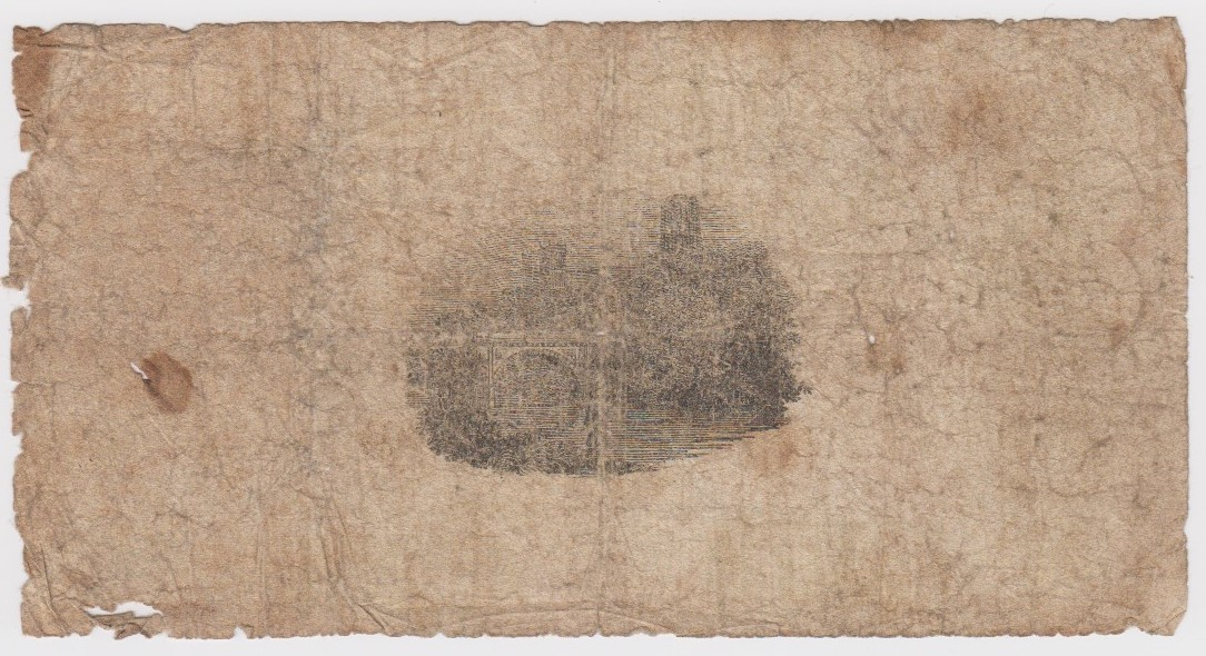 Durham Bank 1 Pound dated 1813, No. 2399 for Mowbray, Hollingsworth, Wetherell, Shields, Boulton & - Image 2 of 2