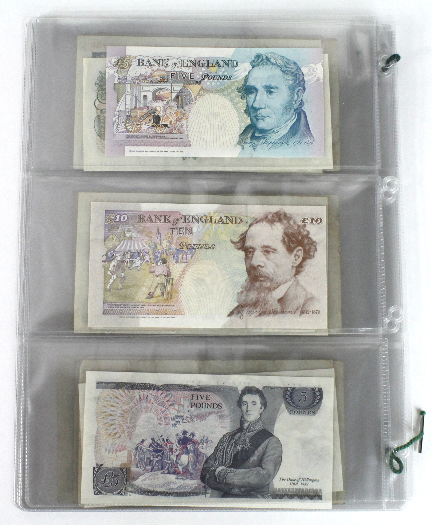 Bank of England (23), a good collection of mid series FIRST and LAST PREFIX notes comprising - Image 9 of 9
