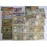 World, Africa (30) a range of notes from North Africa, Algeria (11), Morocco (9) and Tunisia (10), a