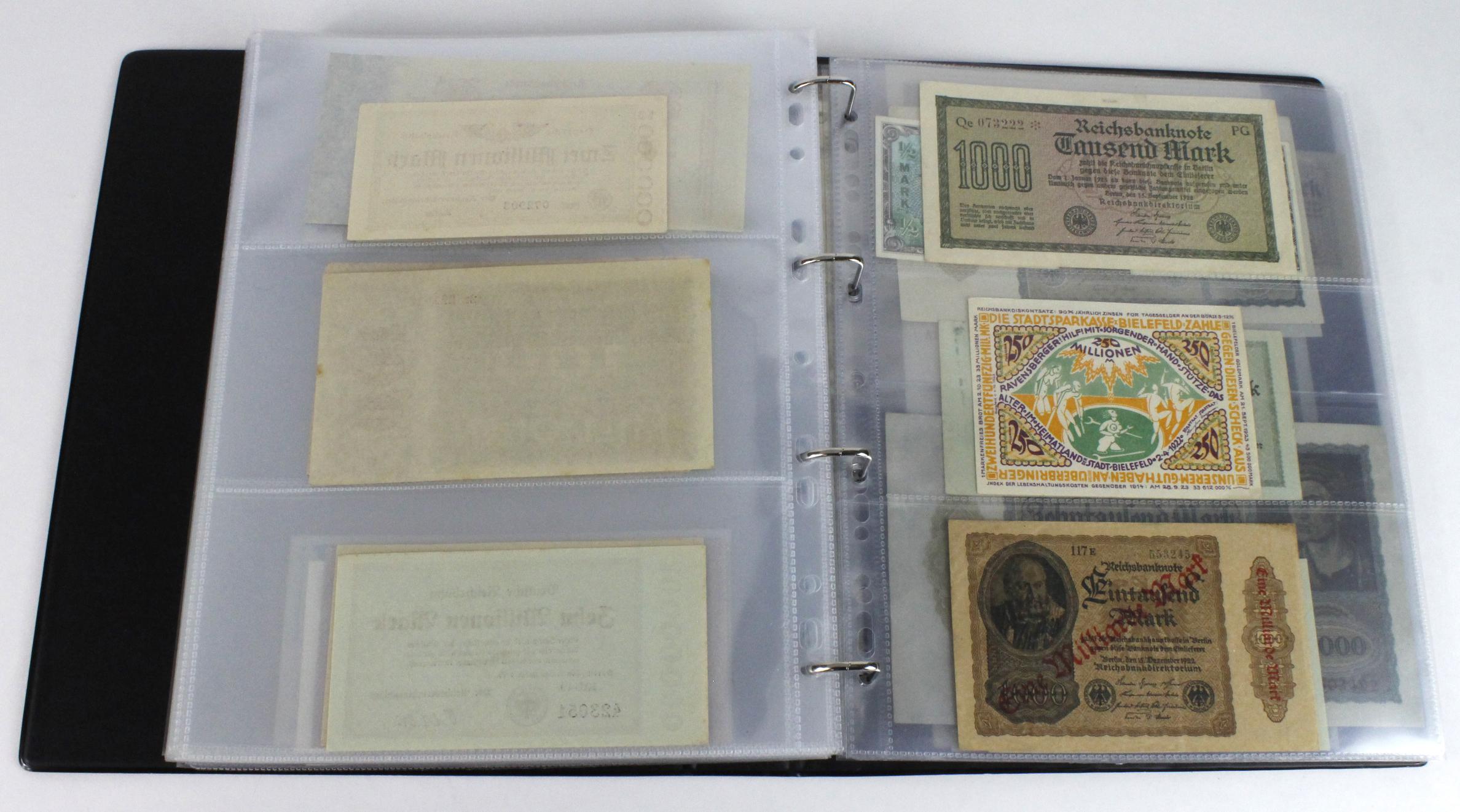 World (163), in banknote album including Bahamas, Spain, Sweden, Netherlands, Algeria, Macau, - Image 51 of 57